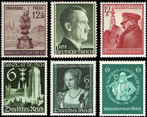 Каталог почтовых марок германии по годам лупа электронная купить в спб